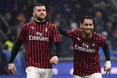 Før kampen: Milan – Roma