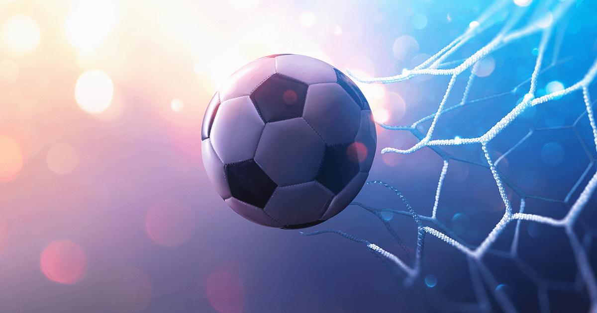 Ball går igjennom nett