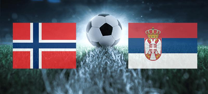 Norge - Serbia Nations League
