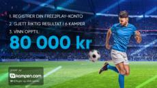 Fotballprofeten – 80 000 kr i premiepotten